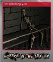 Horror in the Asylum Foil 4