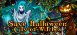 Save Halloween City of Witches Logo