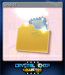 Crystal Chip Collector Card 1