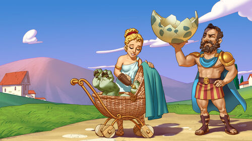 12 Labours of Hercules IV Mother Nature Artwork 1