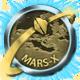Take On Mars Badge Foil