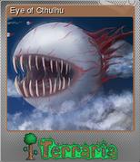 Terraria Card Eye of Cthulhu Foil