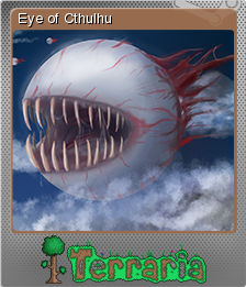 File:Terraria Card Eye of Cthulhu Foil.png