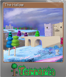 File:Terraria Card The Hallow Foil.png
