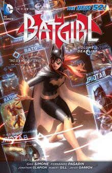 Batgirl Deadline cover