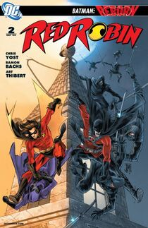 Red Robin 2 cover