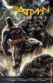 Batman Eternal volume 1 TPB cover