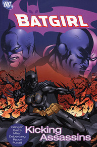 Batgirl Kicking Assassins TPB