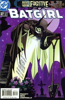 Batgirl 27 cover