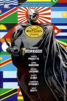 Batman Incorporated TPB cover