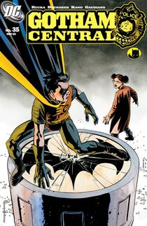 Gotham Central 35 cover
