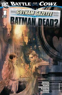 Gotham Gazette 1 cover