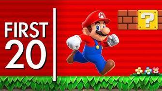 Super Mario Run - First20