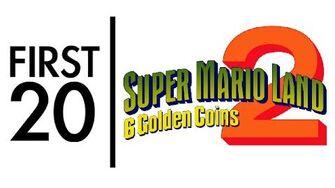 Super Mario Land 2 6 Golden Coins - First20