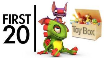 Yooka-Laylee Toybox - First20