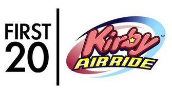 Kirby Air Ride - First20