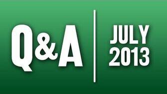 StephenVlog Q&A - July 2013