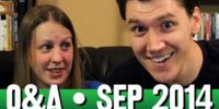 StephenVlog Q&A - September 2014