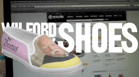 Wilford Brimley Shoes (Day 176 - 5 19 10)