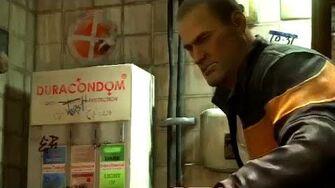 Eat That Condom Machine!