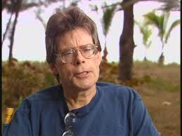 File:Stephen King on interview regarding the film and book.jpg