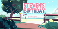 Steven's Birthday/Gallery