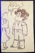 Steven's Birthday Concept Drawing Steven and Connie by Lamar Abrams