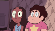 We need to talk Steven Connie Blushing