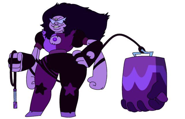 Fichier:Sugilite - Gen 2 With Weapon.png