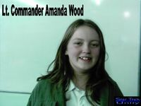 Lt Commander Amanda Wood