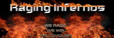 Raging Infernos Second Banner