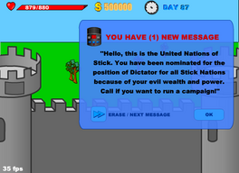 Dictator message
