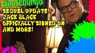 Goosebumps Sequel Update! Jack Black Officially Signed! And More!