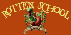 Rotten School logo