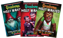 Goosebumps Most Wanted books