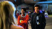 Stitchers - 1x02 Sneak Peek Cameron, Linus, Kirsten & Camille at the Rave