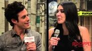 Our interview w Kyle Harris from ABC Family's New Drama Series Stitchers Stitchers