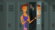 """S2 E8 Reef says """"hello there"""" to his reflection"""