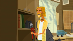 """S1 E11 He grabs the bold cutters and asks Lo """"Whoa! Wait...what for?"""""""
