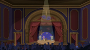 S1 E15 The Stage where Stone is about to perform