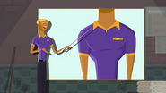 """S1 E15 Bummer says """"Two. I'm instituting a strict all-buttons-to-be-done-up policy on employee golf shirts"""""""