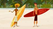 S1 E6 Broseph tells Reef anytime he can borrow Brosephs board shorts