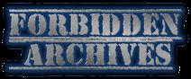 Forbidden Archives Logo