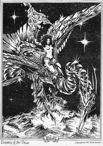 Myshella with her jeweled bird