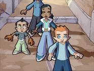 Jeremy, Samira, Cartoon, Tag