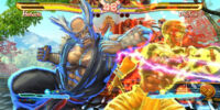 Street Fighter × Tekken/Screenshots