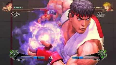 Super Street Fighter 4 - Ryu Ultra 1 Metsu Hadouken