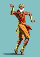 SFV Dhalsim Story Costume Artwork