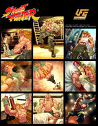 UFS Cards Street Fighter Alex by ArtTeamBeagle