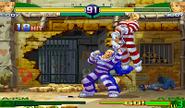 Cody Super Combo Final Destruction Street Fighter Alpha 4 hit